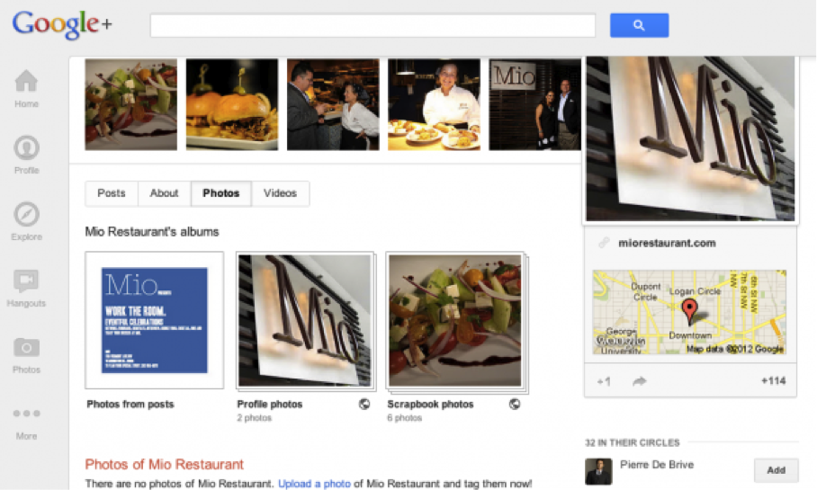 Zagat Reviews in new Google+ Local
