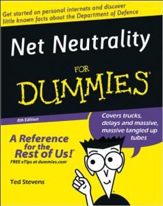 Net Neutrality for Dummies
