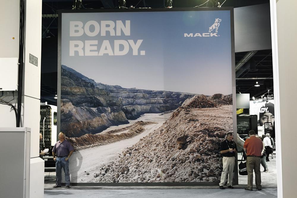 Mack Trucks Industrial Brand